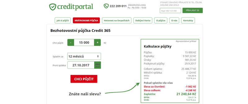 CreditPortal – rychlé peníze na účet i na čerpacích stanicích